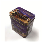 创意三片名片铁盒包装|丽江旅游纪念卡铁盒