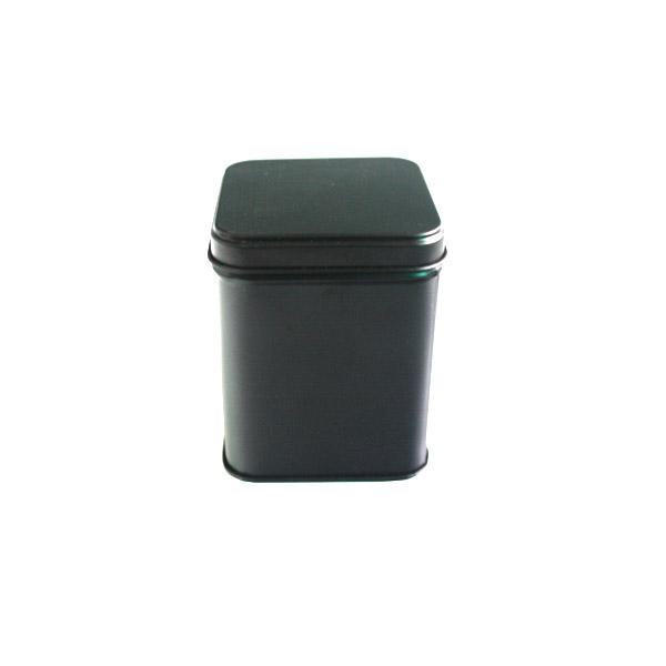 通版正方形黑茶茶叶铁罐定做