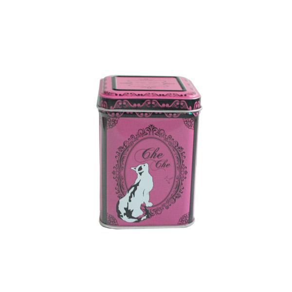 特级安吉白茶小铁罐定制生产 精美安吉白茶铁罐子批发
