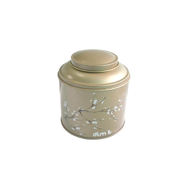 圆形保健茶茶叶马口铁罐制罐工厂