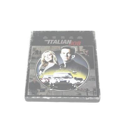偷天换日金典美国电影DVD包装盒 电影光碟包装马口铁铁盒