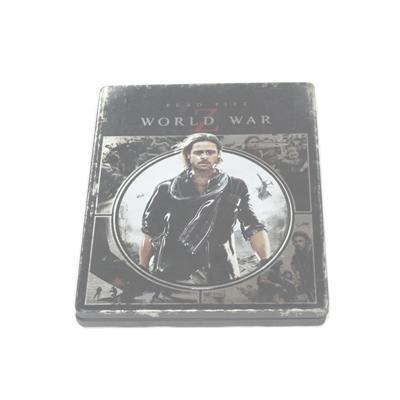 末日之战电影DVD包装铁皮盒 灾难片电影光碟包装盒铁盒