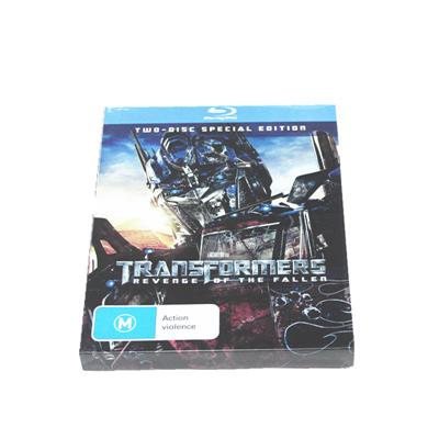 3D科幻电影包装铁盒 美国犯罪系列科幻电影DVD包装金属盒