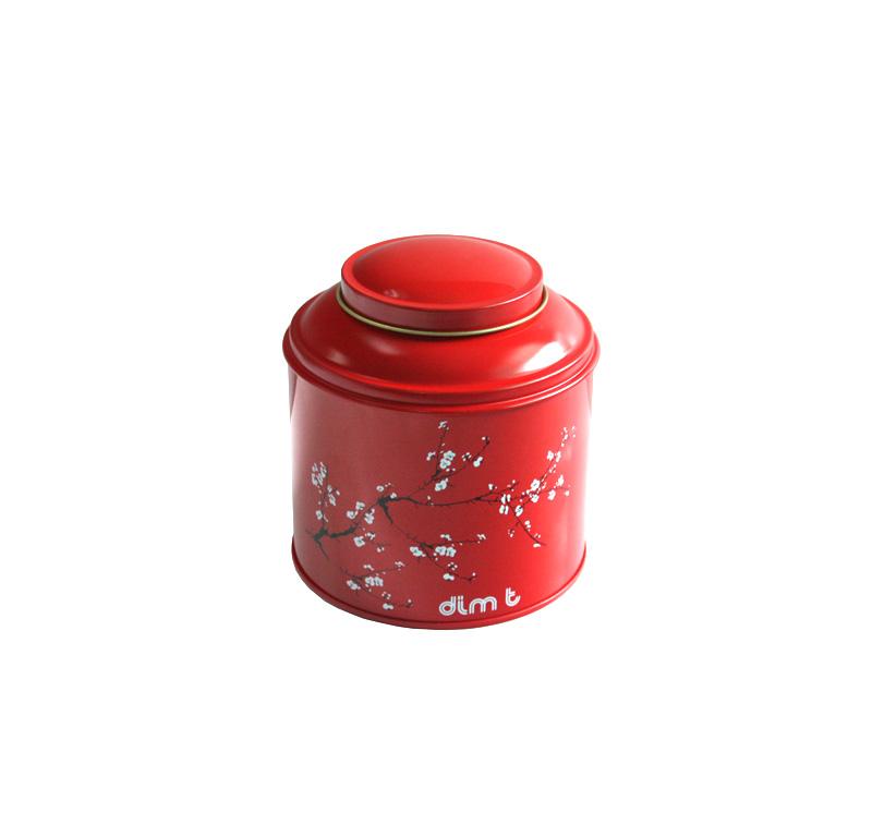 厂家定做圆形马口铁红茶茶叶包装盒