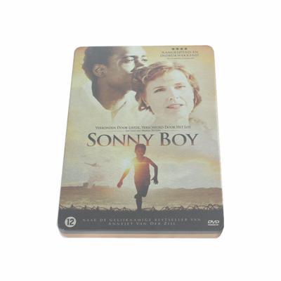 桑尼宝贝励志电影DVD铁盒工厂 荷兰少年励志电影光碟铁盒生产厂家