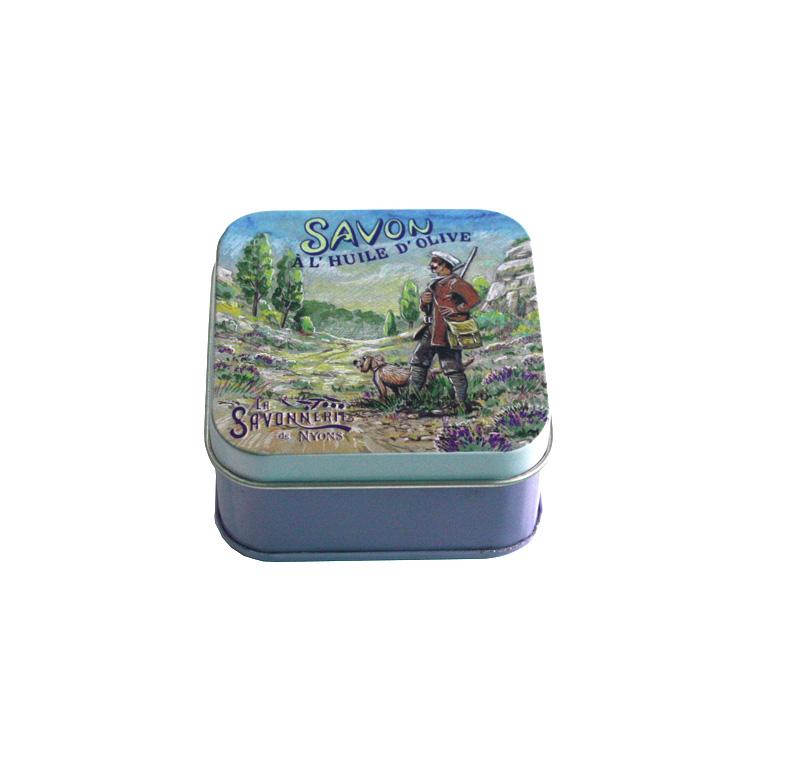 迷你马口铁螺旋藻软胶囊盒厂家 方形螺旋藻软胶囊铁盒包装