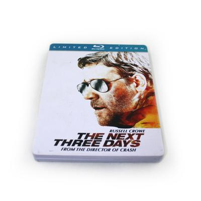 欧美犯罪系列电影光碟包装铁盒定制生产 蓝光DVD铁盒专业生产厂家