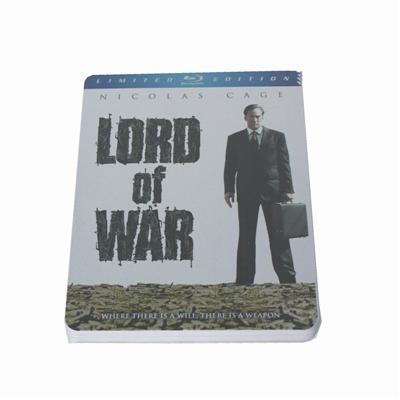 战争之王暴力恐怖电影DVD铁盒批发商 电影光碟包装铁盒供应商