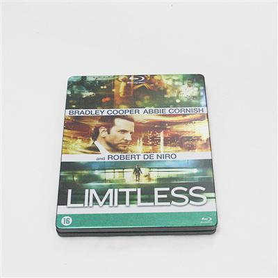 永无止境好莱坞惊悚暴力电影DVD包装盒铁盒 专业批发电影光碟金属包装铁盒