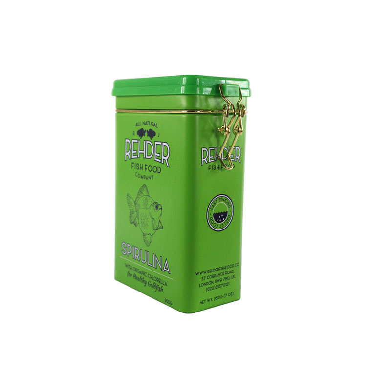 精美塑料盖果茶茶叶马口铁盒制罐工厂