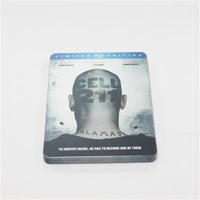 囚室211暴力犯罪电影铁盒DVD包装盒生产商