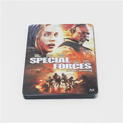 特种部队冒险动作电影DVD铁盒包装生产定制
