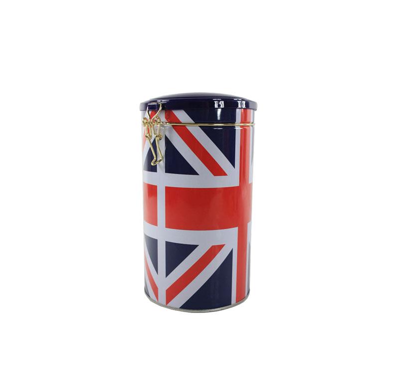 塑胶盖圆形祁门红茶铁盒包装制造公司