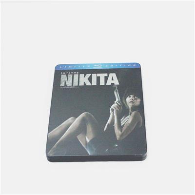 尼基塔女郎动作惊悚电影铁盒DVD包装金属盒定制