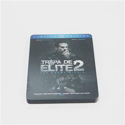 精英部队蓝光DVD电影包装金属盒定制厂家