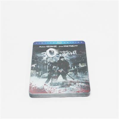三十极夜冒险励志电影蓝光DVD包装金属盒批发商