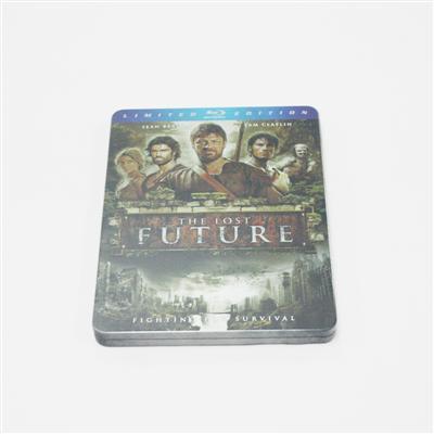 失落的未来科幻冒险电影专用蓝光DVD铁盒生产厂家