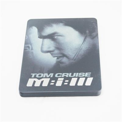 汤姆·克鲁斯动作冒险电影铁盒光碟包装定制生产