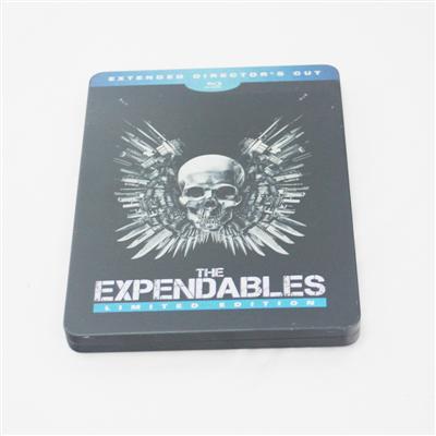 敢死队动作犯罪系列电影光碟DVD包装盒马口铁