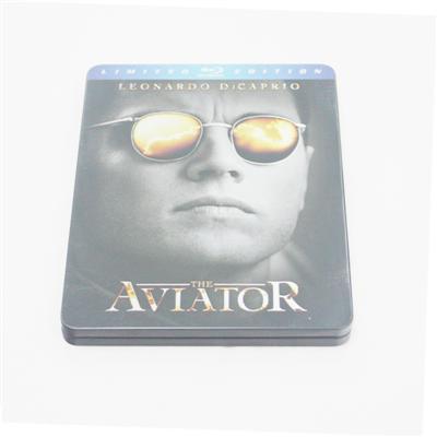 飞行家传记类电影包装光碟铁盒生产定制厂家