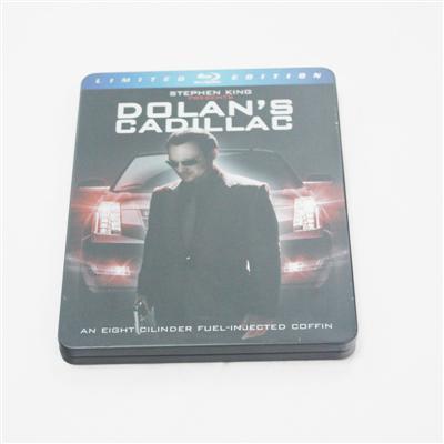多兰的卡迪拉克美国电影光碟包装铁盒专业生产出口厂家