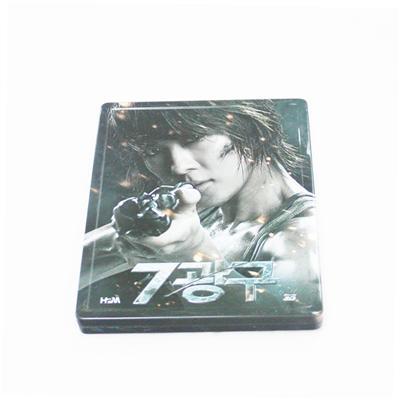韩国特工类电影DVD光碟包装马口铁铁盒定制生产