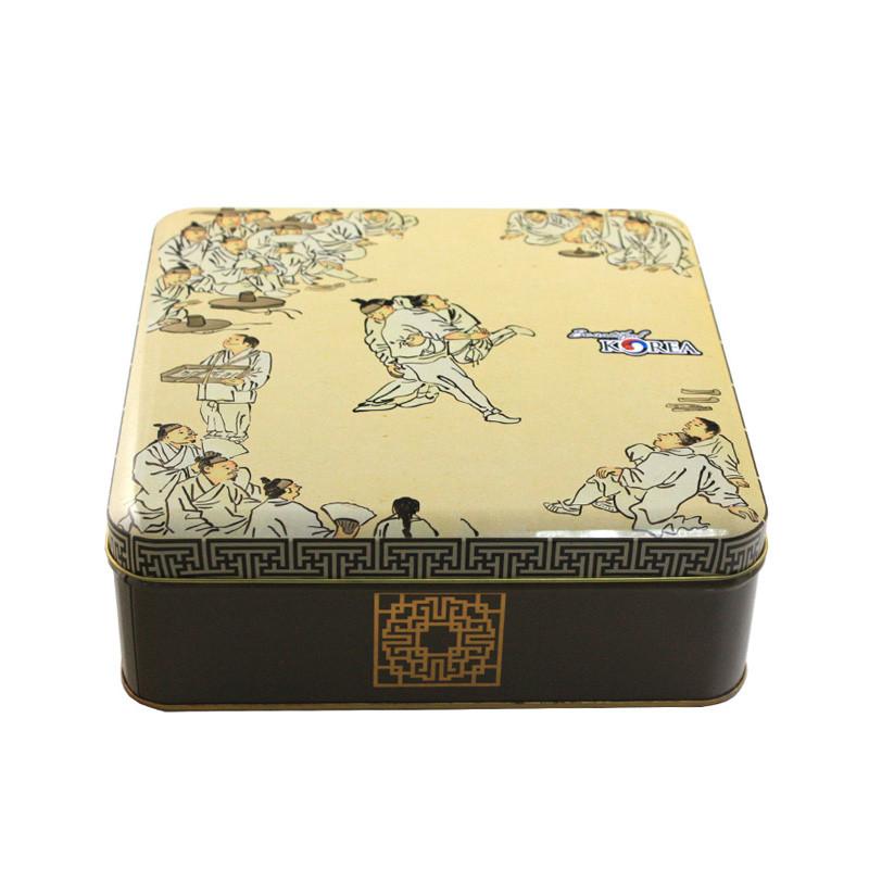 精美正方形巧克力铁盒生产厂家