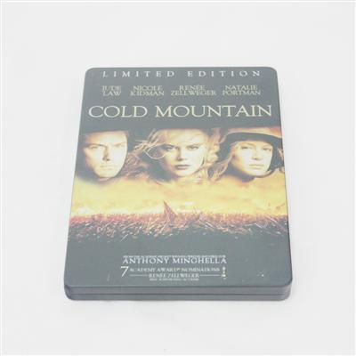 冷山美国内战题材电影DVD光盘包装铁皮盒定制