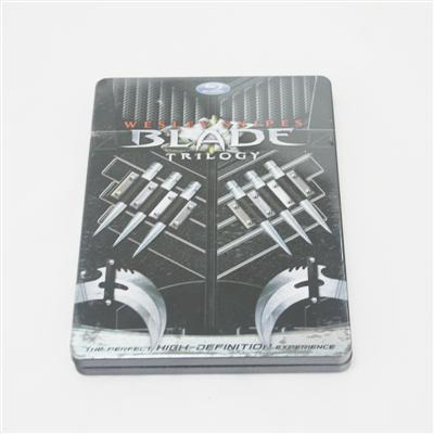 刀锋战士热播电影DVD铁盒包装生产定制