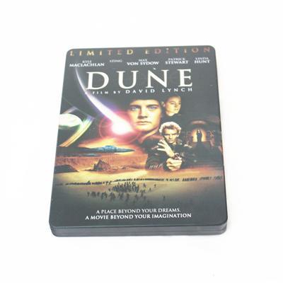 沙丘冒险科幻电影DVD包装盒马口铁皮盒定制