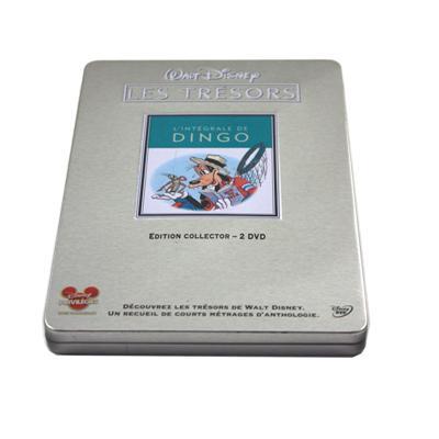 唐老鸭经典儿童动画片光碟包装铁盒生产定做