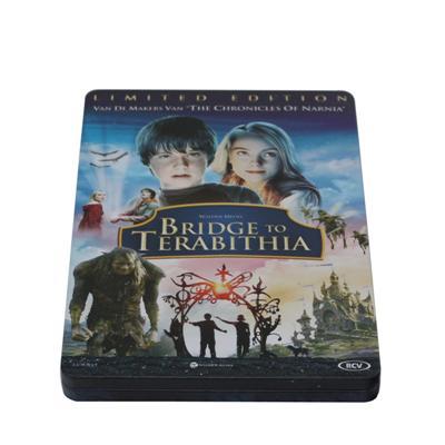 欧美少儿奇幻电影DVD马口铁包装铁盒定制生产