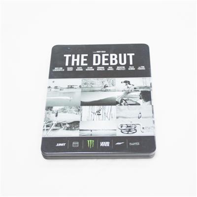 欧美经典电影DVD光碟包装铁皮盒订做厂家