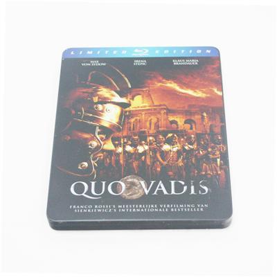 欧洲民族战争系列电影DVD光碟马口铁包装盒生产定制