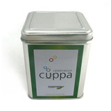 方形翻盖式茶叶铁皮盒定制厂