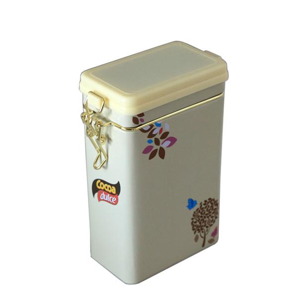 高档果胶粉铁盒生产厂家