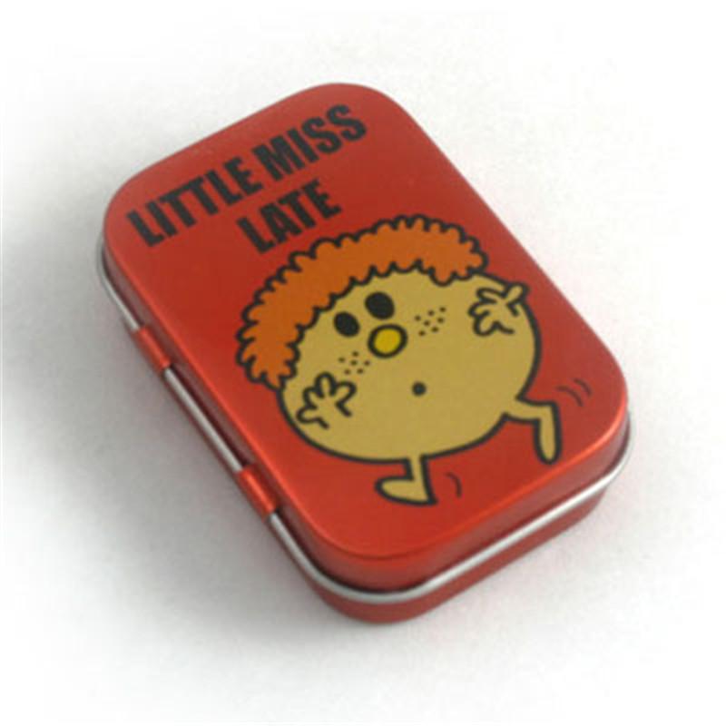 小巧精美口香糖铁盒定做工厂