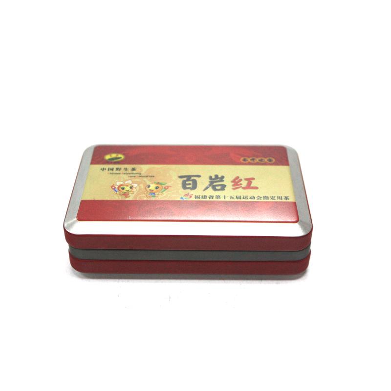 高档长方形玛咖铁盒订制工厂