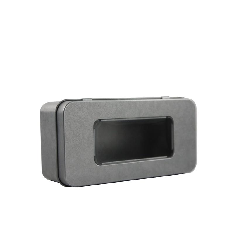 长方形开窗玛咖包装铁盒生产工厂