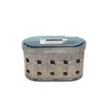 翻盖式椭圆形茶叶铁皮盒定制工厂