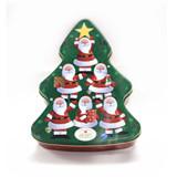 个性定制圣诞礼品铁盒 东莞圣诞礼品铁盒厂家