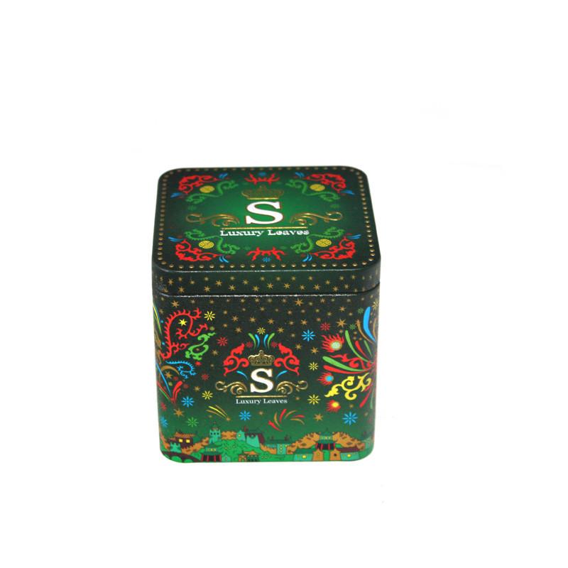 高品质方形茶叶包装铁盒定制工厂