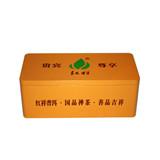 高档长方形茶叶铁皮盒定制厂家