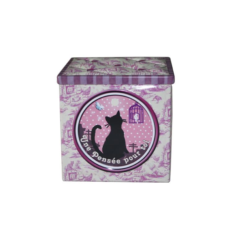 高档方形咖啡铁盒订制生产工厂