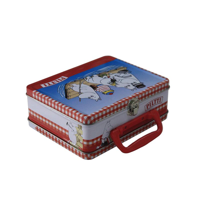 手提式饼干包装马口铁盒定制