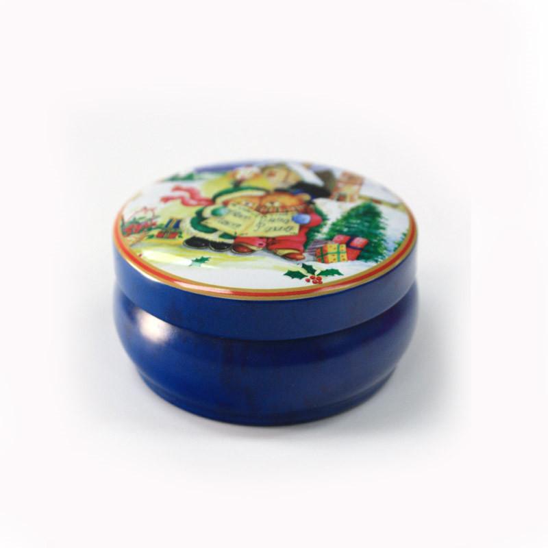 精美圆筒蜡烛马口铁罐定制工厂