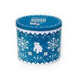超大号椭圆形圣诞礼品铁盒定制厂家