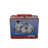 方形马口铁带手提午餐盒制罐工厂