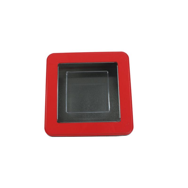 生产定制正方形大米包装马口铁盒