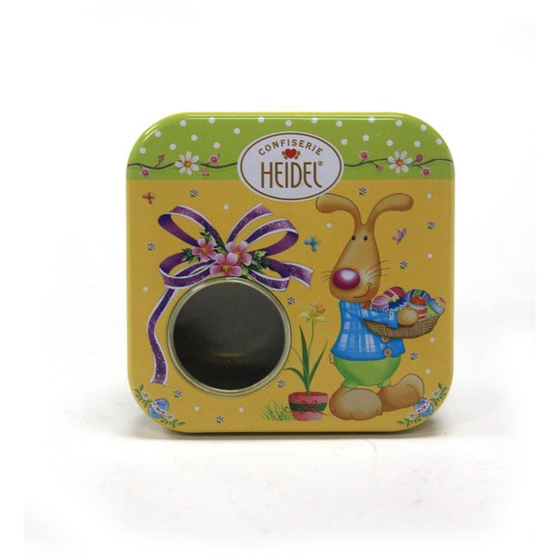 工厂生产定制小巧巧克力马口铁盒